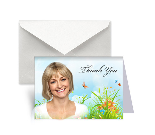 Springtime Thank You Card Design & Print