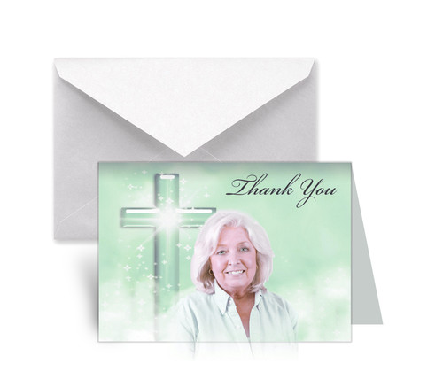 Adoration Funeral Thank You Card Design & Print (Pack of 25)