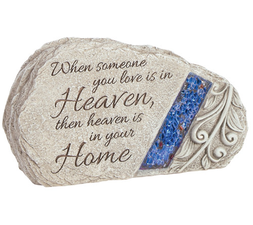 Someone You Love Glow In The Dark Memorial Garden Stone