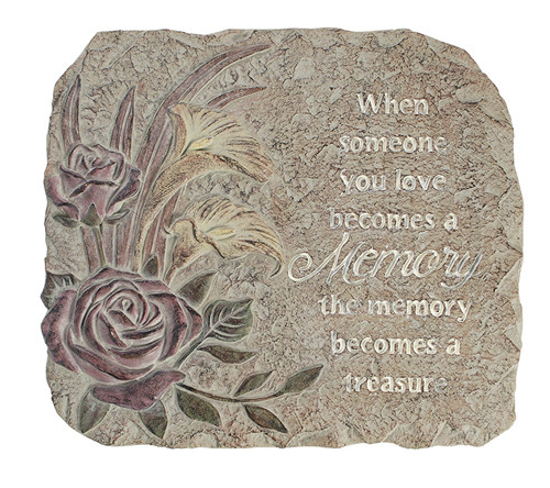 A Memory Glow In The Dark Memorial Garden Stepping Stone