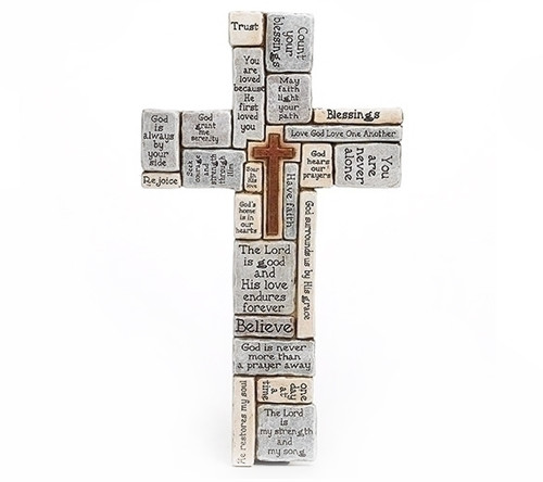 Words and Sayings Comfort Wall Cross