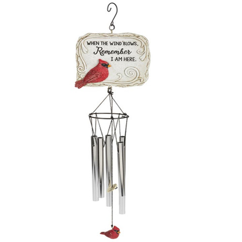 When The Wind Blows Garden Memorial Wind Chime