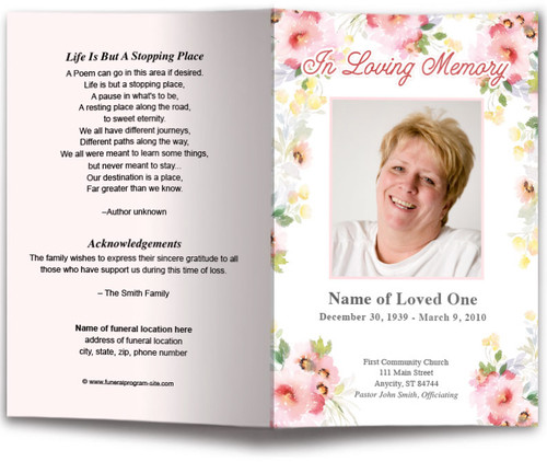 funeral program site