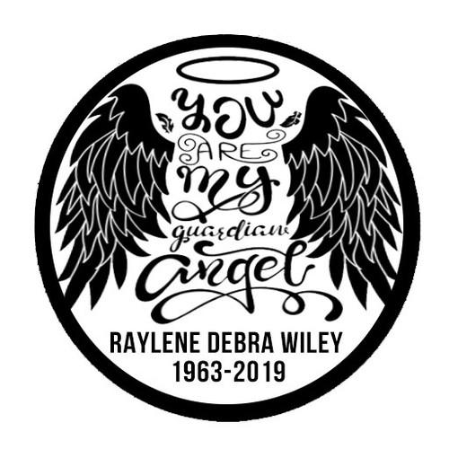 Guardian Angel B/W In Loving Memory Of Patch