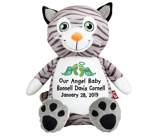 Kitty Cat Memorial Stuffed Animal Urn