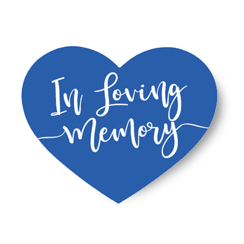 In Loving Memory Share A Memory Remembrance Card