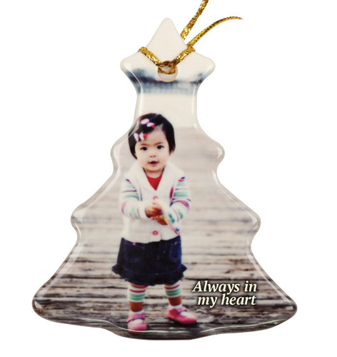 Christmas Tree Ceramic In Loving Memory Christmas Ornament
