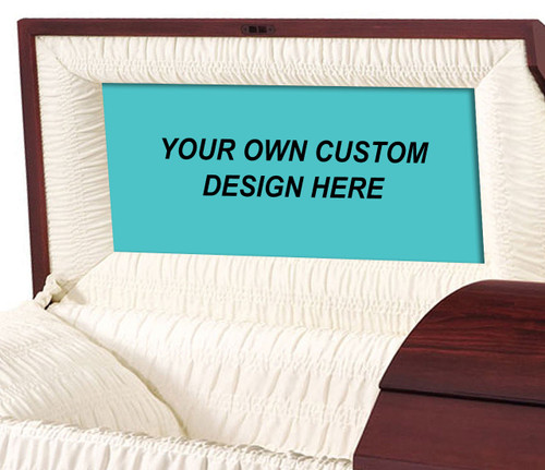 Custom Casket Head Panel Insert Your Design