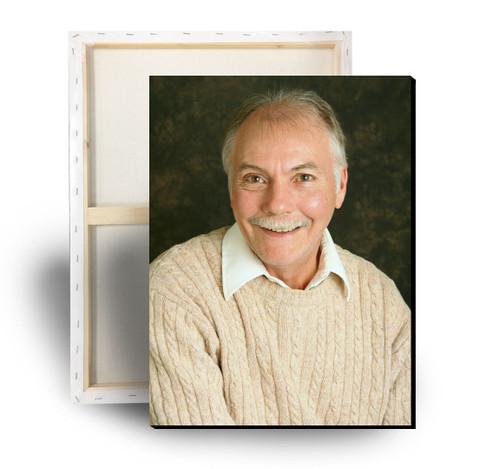 Your Photo Memorial Canvas Print