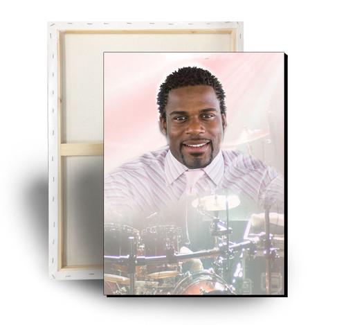 Drums Memorial Canvas Print