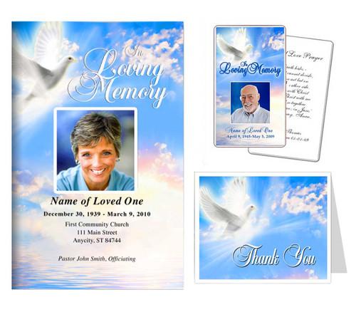 Funeral Templates Set - Peace