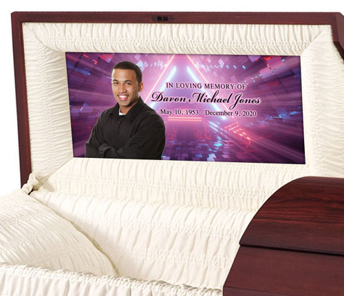 Custom Casket Panel Insert - Portal Design