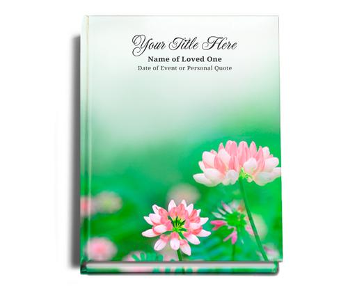 Ambrosia Perfect Bind 8x10 Funeral Guest Book portrait