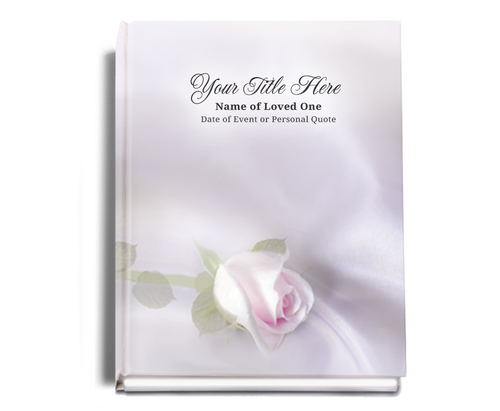 Beloved Perfect Bind 8x10 Funeral Guest Book