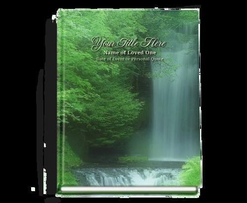 Cascade Perfect Bind Funeral Guest Book 8x10