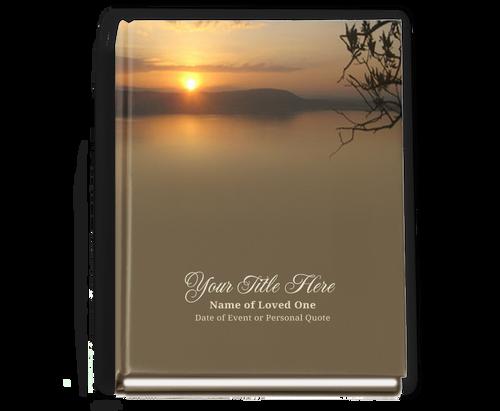 Kenya Perfect Bind Memorial Guest Registry Book 8x10