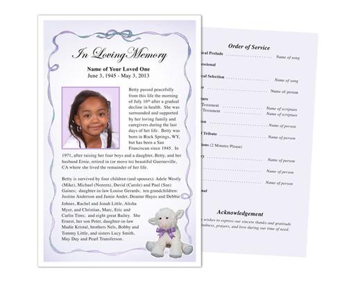 Dreamstime Funeral Flyer Half Sheets Template
