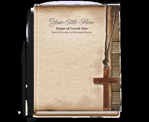 Shepherd Perfect Bind Memorial Guest Registry Book 8x10