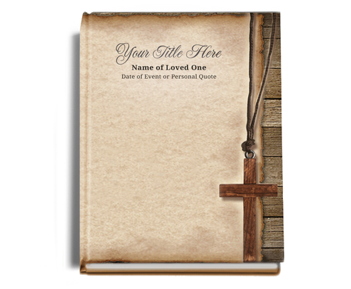Shepherd Perfect Bind Memorial Guest Registry Book 8x10