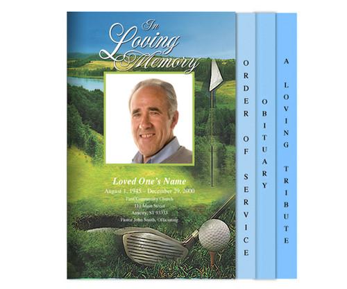 Golfer Legal 8-Sided Graduated Program Template