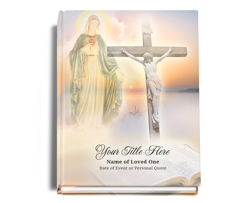 Vision Perfect Bind Memorial Guest Sign-In Book