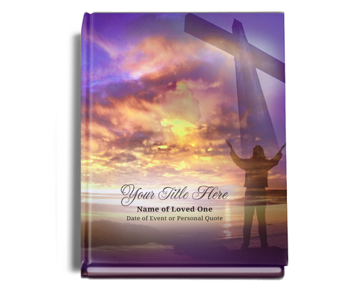 Worship Perfect Bind Memorial Guest Sign-In Book