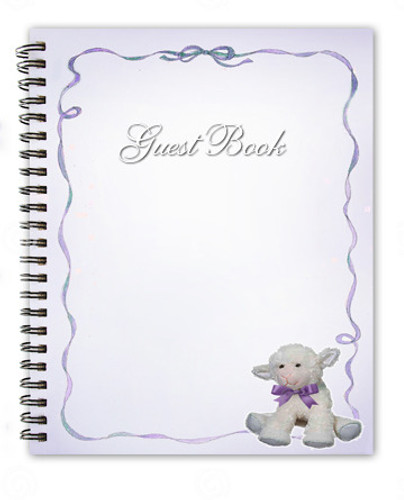 Dreamstime Spiral Wire Bind Memorial Guest Book Registry