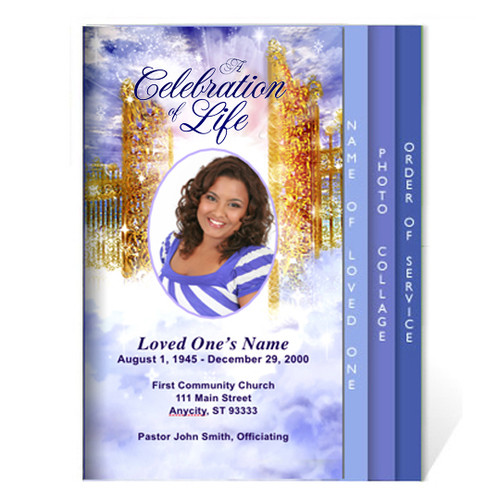 Pathway DIY 8-Sided Funeral Graduated Program Template