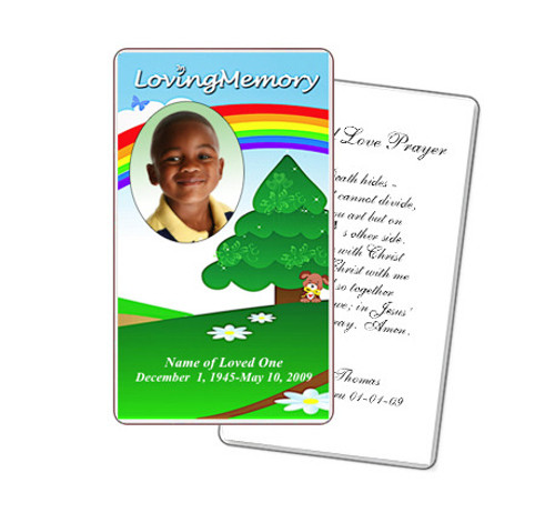Delight Prayer Card Template