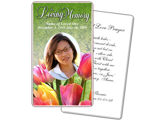 Harvest Prayer Card Template