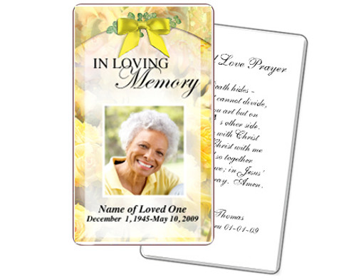 Joyful Prayer Card Template