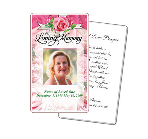 Precious Prayer Card Template