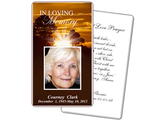 Renewal Prayer Card Template