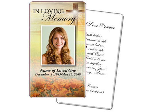Savior Prayer Card Template