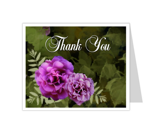 Essence Thank You Card Template