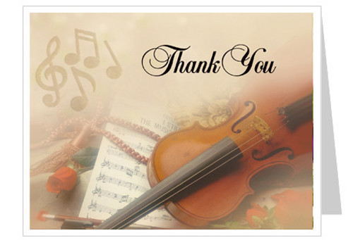 Harmony Thank You Card Template
