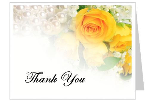Joyful Thank You Card Template