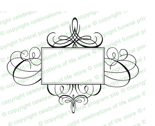 Aria Elegant Vector Flourish Border