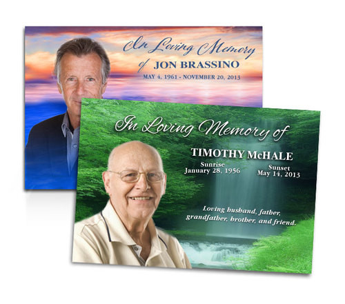 Custom Funeral Announcement | Funeral Templates