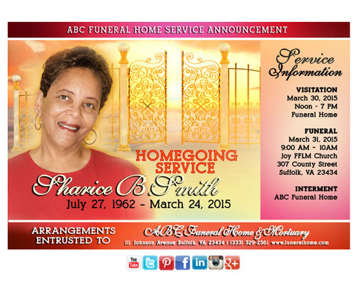 Heaven Gate Funeral Announcement Social Media