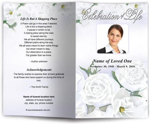 awakening funeral program site