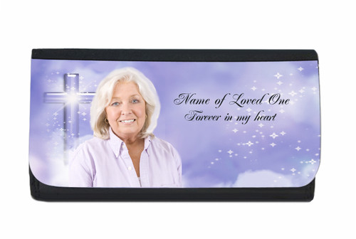 Adoration In Loving Memory Personalized Wallets