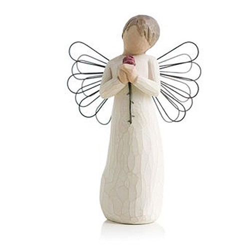 Loving Personalized Angel Willow Tree Figurines view 2