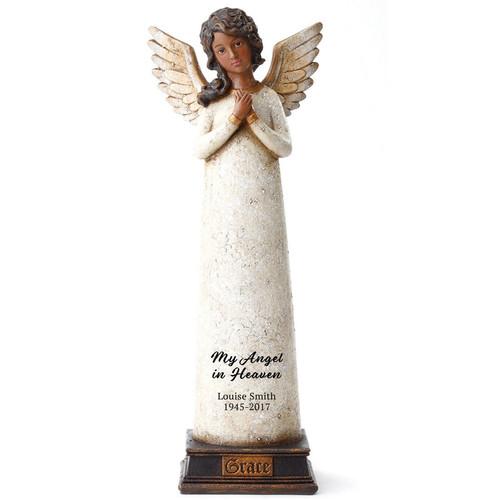 Black Angel Figurines   African American Angel