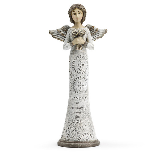 Grandma In Loving Memory Angel Figurines