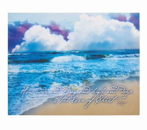 God's Love Faith Religious Inspirational Canvas Art