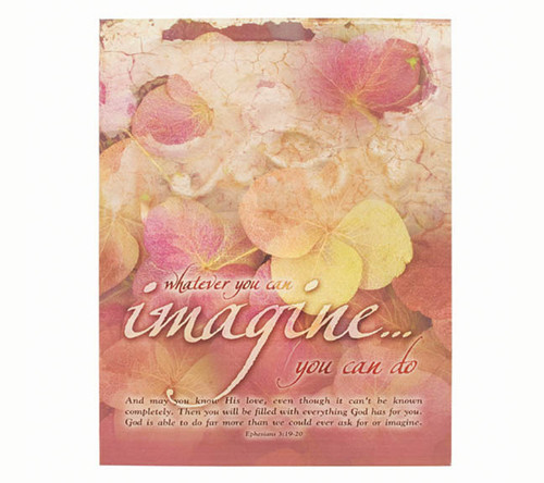 Imagine Faith Religious Inspirational Canvas Art