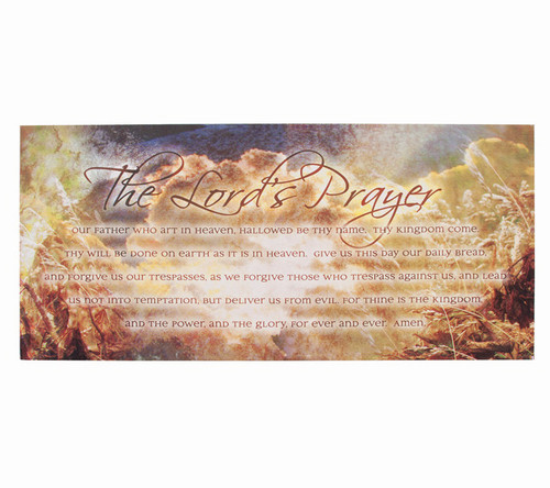 The Lord's Prayer Spiritual Inspirational Canvas Art