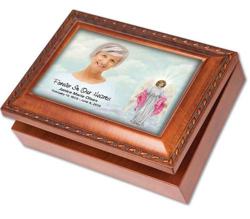 Angelina Keepsake & In Loving Memory Memorial Music Box