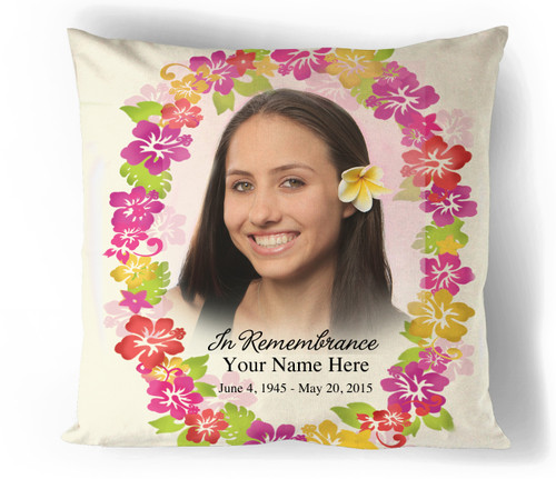 Aloha In Loving Memory Memorial Pillows